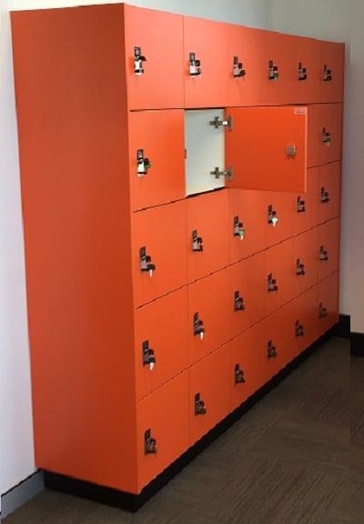 Orange Laminex Open